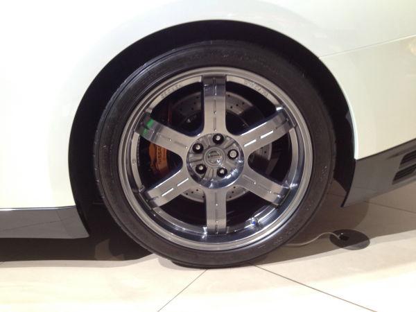 R35GT-Rのリヤのタイヤ