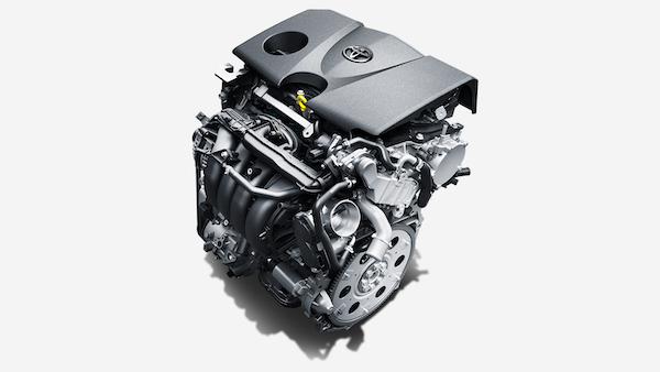 RAV4の新型エンジン(2.0Lダイナミックフォースエンジン)の写真