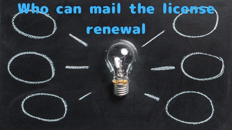 郵送で運転免許更新期限延長の申請手続きできる方はだれ?のイメージ画像
